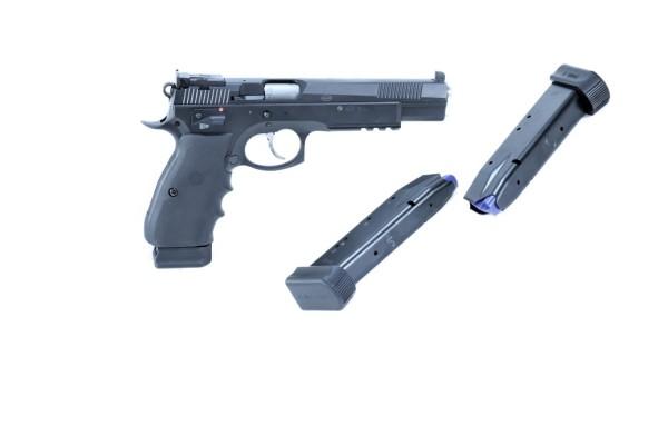 CZ 75 SP - 01 6.1 SA DA in Kal 9 mm Luger mit LPA Visierung
