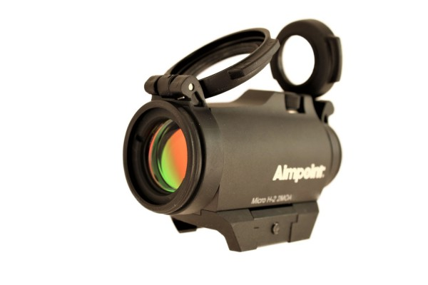 Aimpoint micro H-2 mit Weaver/Picatinny Montage 2 MOA