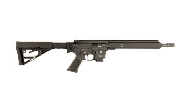 """NEU Schmeisser AR 15 - 9 Sport Kal. 9 mm Lauflänge 14,5"""" Zoll, Schubschaft, M-Lok"""