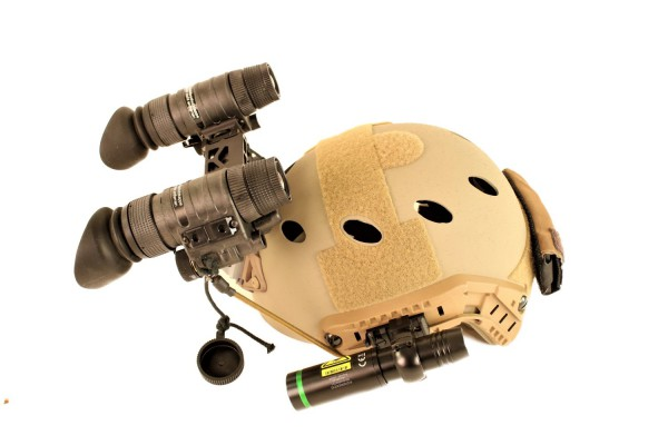 Nachtsichtgerät NIGHT-TRONIC 2 x NT 940 Onyx Intense + Helm Ops-Core Carbon