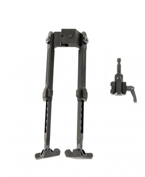 Fortmeier Zweibein H 210 für Longrange / Präzision Sportschiessen mit 5 Positionen inkl. Picatinny A