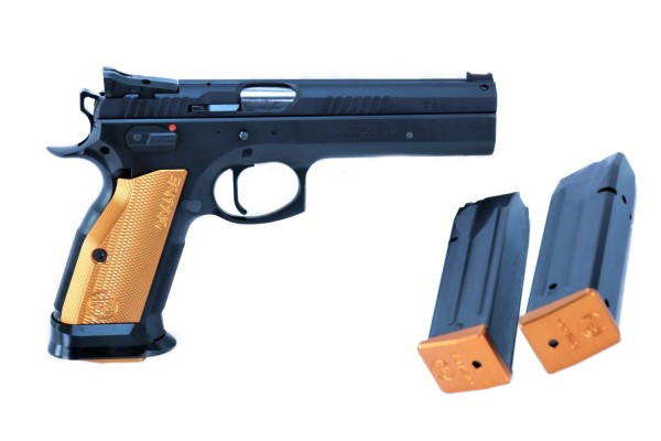 CZ 75 Tactical Sports TS Orange im Kaliber 9 mm Luger