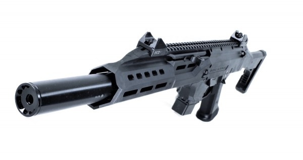 CZ Scorpion Evo 3 S1 in Kaliber 9 mm Luger Faux Suppressor sofort verfügbar auf Lager