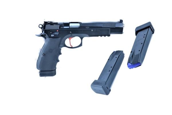 CZ 75 SP- 01 6.1 SA Kal. 9 mm Luger mit LPA Visierung