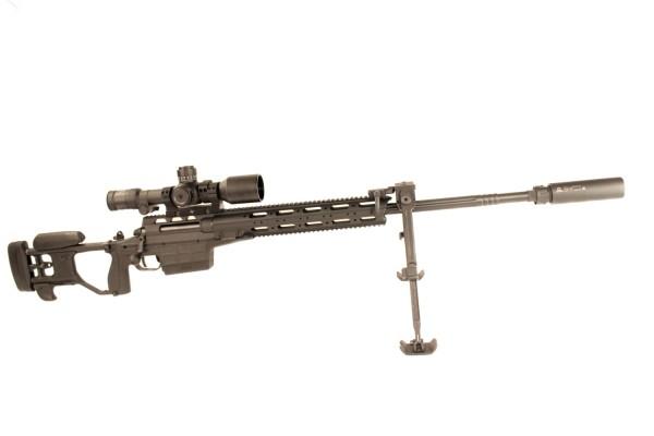 Sako TRG M 10 im Kaliber .338 Lapua Magnum im Komplettset mit Hensoldt, Schalldämpfer etc.