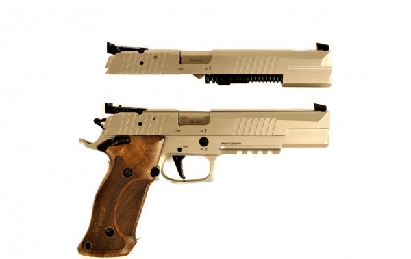 Sig Sauer P220 X-Six PPC Redesign SAO Kal. 45 Auto + 9 mm Wechselsystem